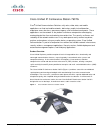Cisco 7937G - Unified IP Conference Station VoIP Phone Datasheet