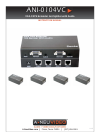 A-Neuvideo ANI-0104VC Instruction manual