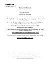 Toshiba 40L53** DIGITAL Series Owner's manual