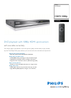 Philips DVP3980 Specifications