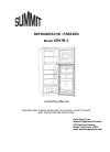 Summit CP97R-1 Instruction manual