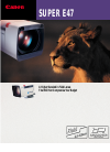 Canon SUPER E47 Specifications